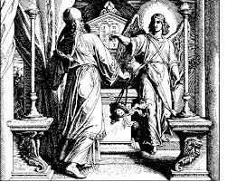 zechariah and angel